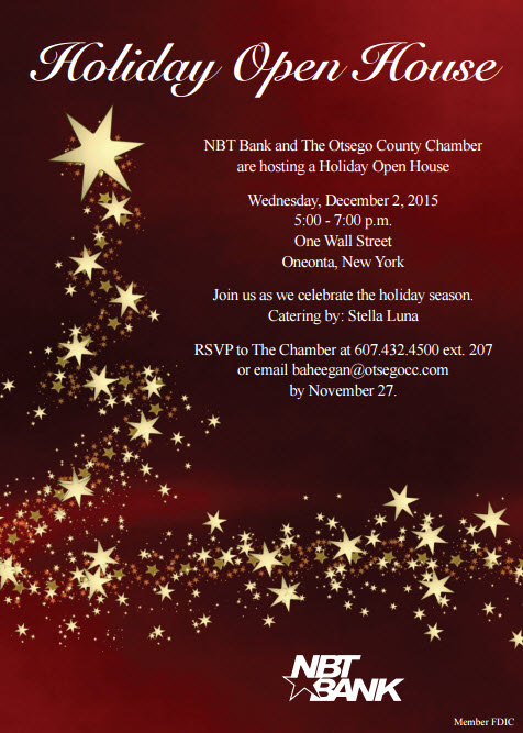 holiday open house 2015