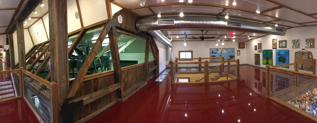 Fly Creek Cider Mill Interior