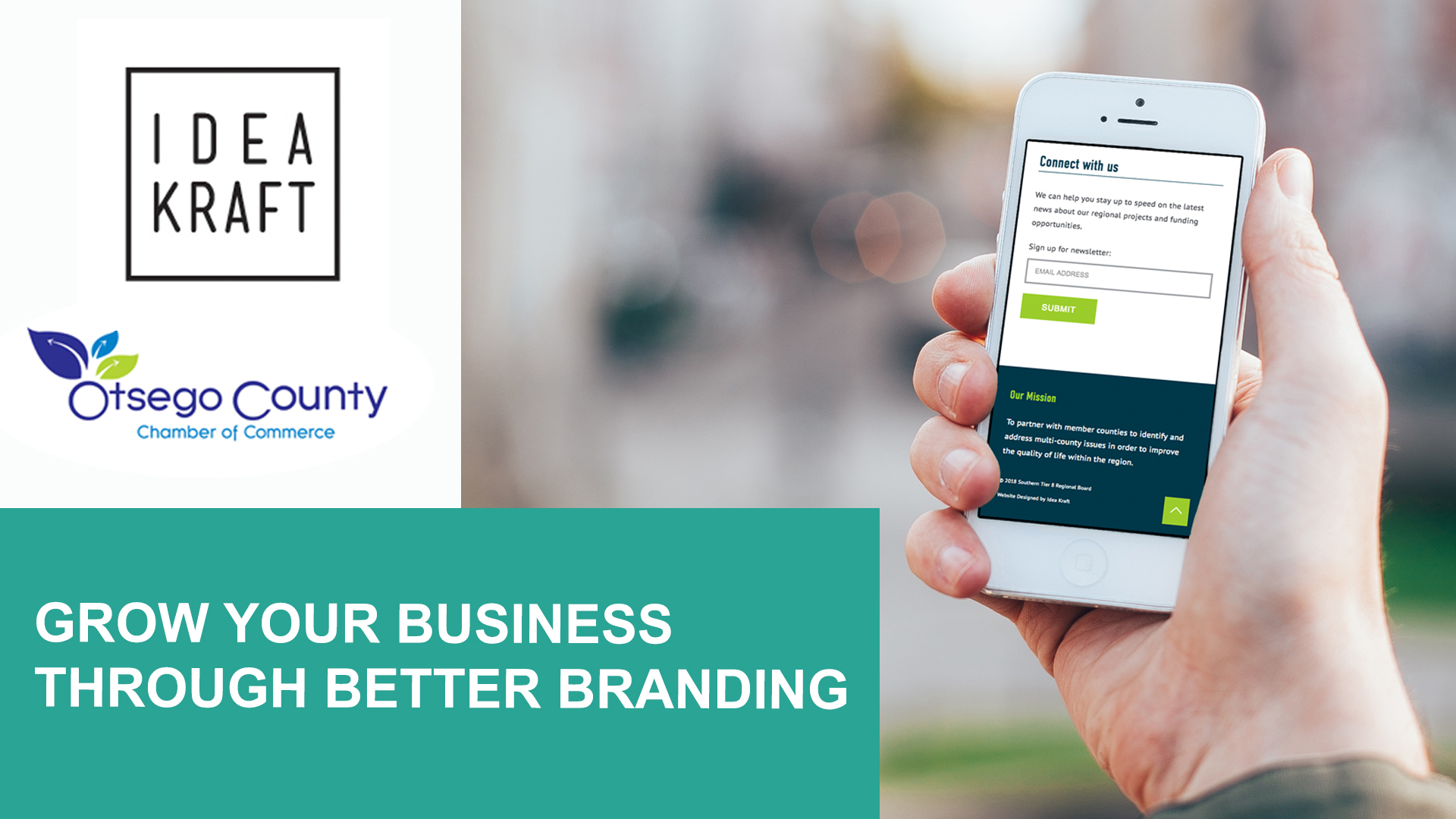 [Enews] FREE WORKSHOP Grow your business through better branding
