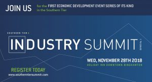 Southern Tier 8: Industry Summit-Save the Date November 28, 2018