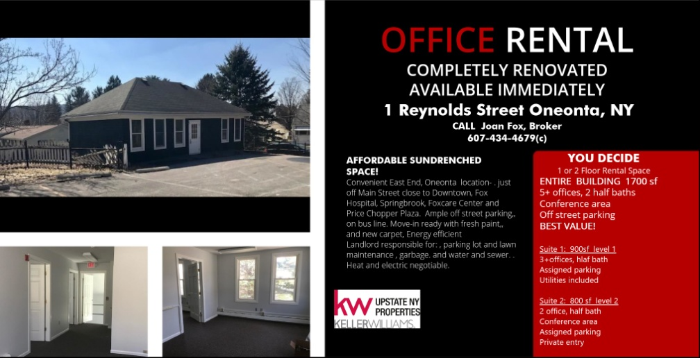 Fwd: [Enews] Otsego County Chamber Member News-Open House for new Office Rental June 19 4-7 pm