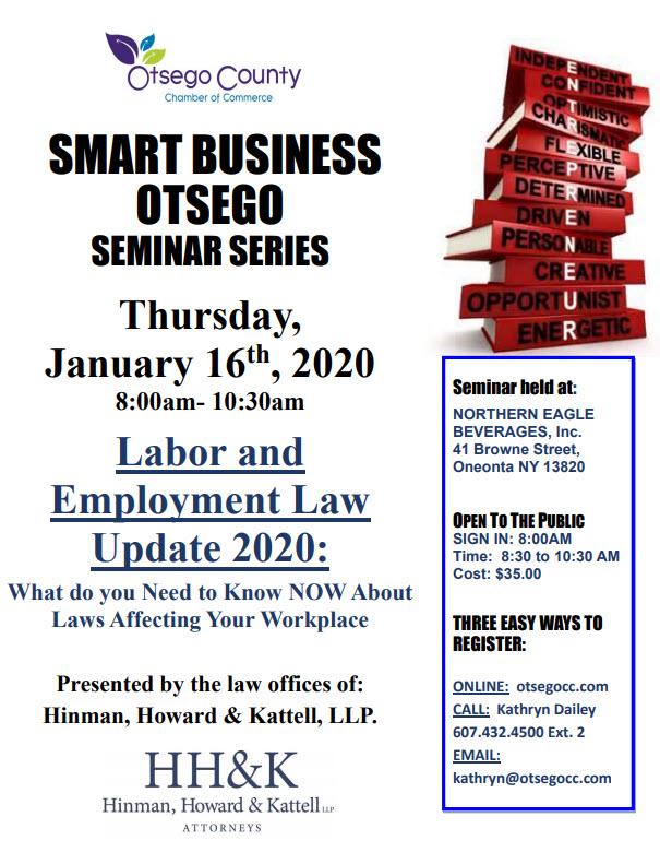 Labor & Employment Training – January 16