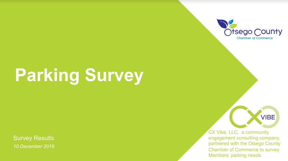 Parking Survey Results