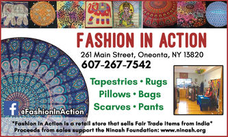 Fashion In Action is open online
