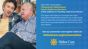 Helios Care Offers Healthcare Decisions Webinar, Pandemic Archive Project & Latest Updates on SBA Loan Programs