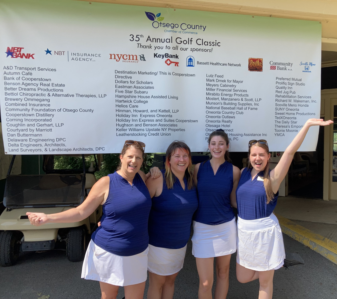 35th Annual Golf Classic a success!  Congrats to all the winners, & thank you to all the sponsors!